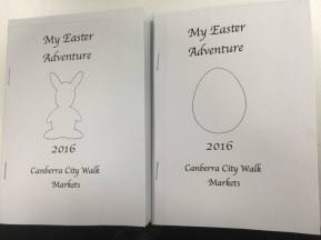 Easter booklets